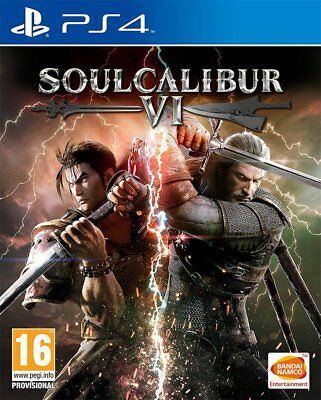 Soul Calibur VI (PS4)  BRAND NEW AND SEALED - IN STOCK - QUICK DISPATCH