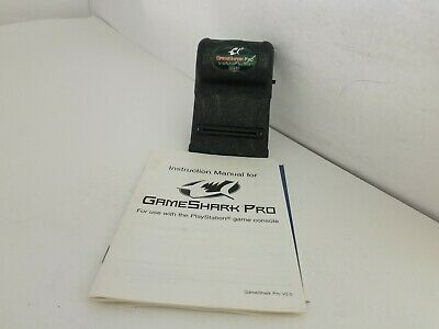 NEW GameShark Pro Version 3.0 for PlayStation 1 With Manual  Loose No box