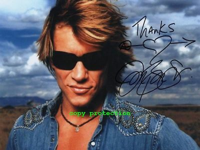 G11-2163 Jon Bon Jovi, Autogramm Foto, 11x15 cm, It´s my Live, Bed of Roses