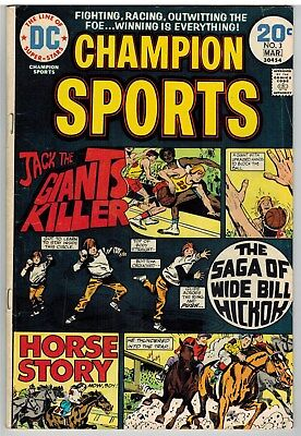 Champion Sports #3 1974 Dc Bronze Age!