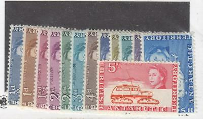British Antarctic Territory # 1-13 Vf-Mh Short Set Cat Value $80.50