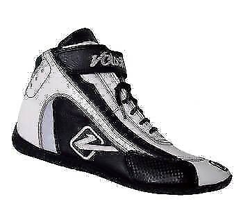 Velocita W08 Safety Driving Racing Shoes SFI Leather / Nomex White Size 8