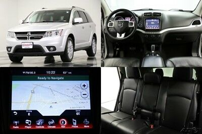 2013 Dodge Journey Crew Heated Leather Navigation  Camera Bright Silv 2013 Crew Heated Leather Navigation  Camera Bright Silv Used 3.6L V6 24V FWD SUV