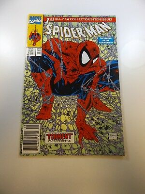 Spider-Man #1 1990 series VF condition Huge auction going on now!