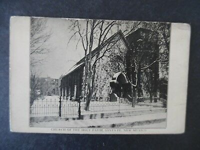 ca1910 Santa Fe New Mexico Church of the Holy Faith Postcard