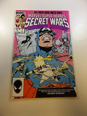 Marvel Super Heroes Secret Wars #7 NM condition Huge auction going on now!