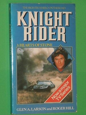 KNIGHT RIDER #3 : Hearts Of Stone / SIGNED BY DAVID HASSELHOFF / 1984 TV Tie-In