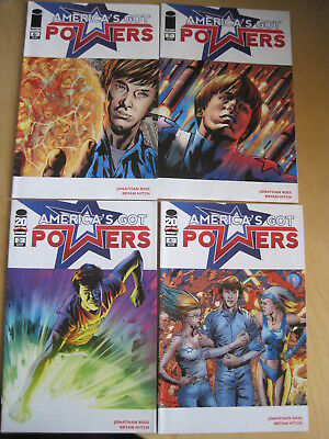 America's Got Powers :issues 1,3,4,6,7 ( of 7 series) by Ross & Hitch.Image,2012