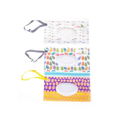 Clean Wipes Carrying Case Wet Wipes Bag  Cosmetic Pouch Wipes Container *FAU