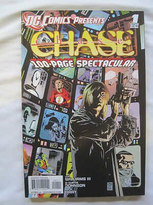 CHASE : 100 PAGE SPECTACULAR ONE-SHOT by WILLIAMS III & JOHNSON. DC.2011