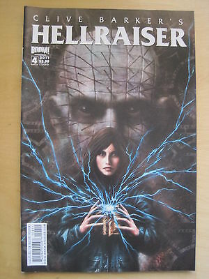 Clive Barker's Hellraiser  # 4. Pinhead. Very Gory! 2011 Boom Series
