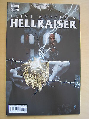 Clive Barker's Hellraiser  # 4. Box Cover. Pinhead. Very Gory! 2011 Boom Series