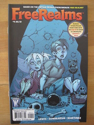 Free Realms  9. Virtual World.  Based On The Video Game. Wildstorm. 2010