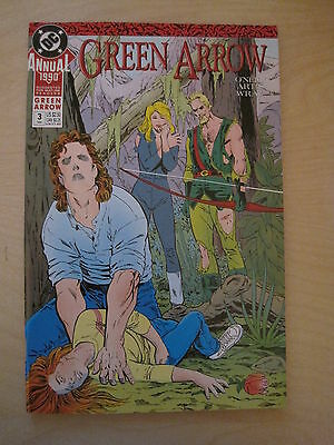 GREEN ARROW : ANNUAL # 3. SUGGESTED FOR MATURE READERS. 1st PRINT. DC.1988