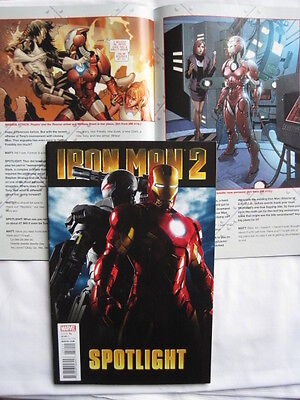 IRON MAN  2 :  SPOTLIGHT  # 1. ALL THINGS TO DO WITH 2nd IM FILM.  2010. MARVEL