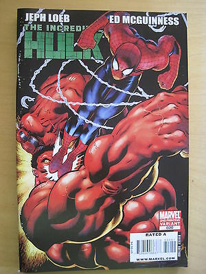INCREDIBLE HULK # 600 2nd VARIANT. JEPH LOEB,ED McGUINNESS. LOTS OF EXTRAS.2009.