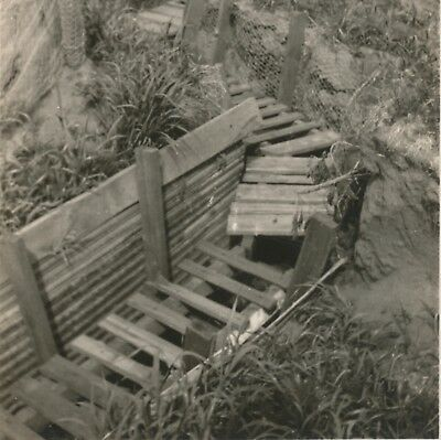 Old Trench System Fort Snelling Minnesota O.R.C. Camp July 16-30 1923 Photograph