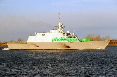 1 slide of US Navy Freedom-class littoral combat ship FREEDOM (LCS-1) delivery