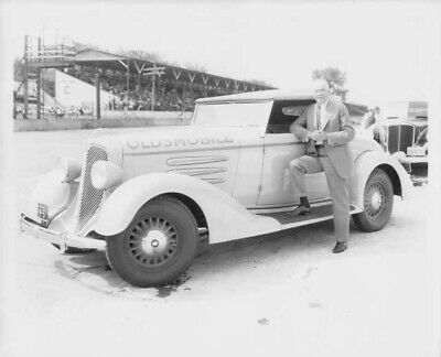 VINTAGE OLDSMOBILE PHOTO MOTOR AUTOMOBILE REAL PHOTO 1919 Olds 8 X 10 b&w -  $12.00   PicClick