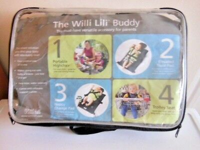 Baby Willi Lili Buddy 4 In 1 Portable Highchair/floor Pad/changing Mat/trolley S