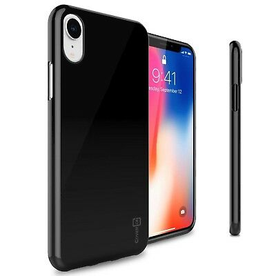 Black Case For Apple iPhone XR / 10R Flexible Shockproof Slim Rubber TPU Cover