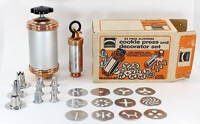 Mirro Cookie Press and Decorator Set, 23 Pieces in Box, M-0350-57