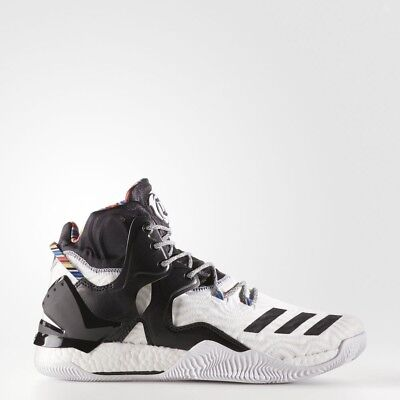 online retailer a0e83 77d98 Adidas D Rose 7 Arthur Ashe BHM Limited Edition Style BY3475