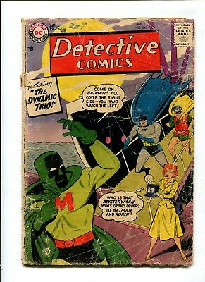 Detective Comics #245 VINTAGE Batman DC Comic Golden Age 10c Robin