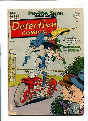 Detective Comics #161 VINTAGE Batman DC Comic Golden Age 10c Robin