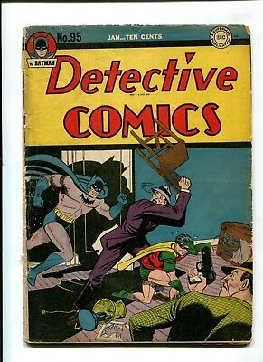 Detective Comics #95 VINTAGE Batman DC Comic Golden Age 10c Robin