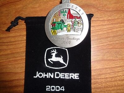 NEW John Deere 2004 GP Tractor Pewter Ornament, No. 9  in Series PMDC02004
