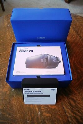Samsung Gear SM-R323 Oculus Virtual Reality Headset - Black/Blue - BRAND NEW!!