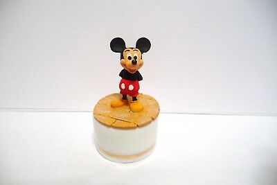 """Trinket Box Sterling Classic H/p Disney's Cast Of Characters """"mickey Mouse"""""""