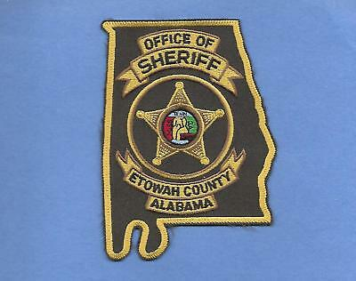 Alabama State Shape-New Style- Etowah County Sheriff Office-Gadsen, Alabama