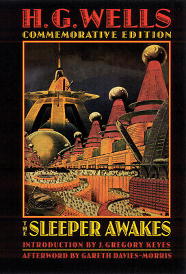 Bison frontiers of imagination: The sleeper awakes by H. G. Wells (Paperback /