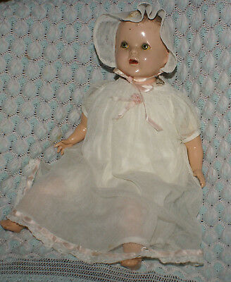 """Early American Character Doll 1937 TOODLES 18"""" Original outfit Toddles"""