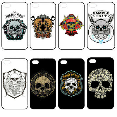 Silicone Skull Painted Drop Resistance Phone Cover Case for Iphone 6/7/8 Plus X