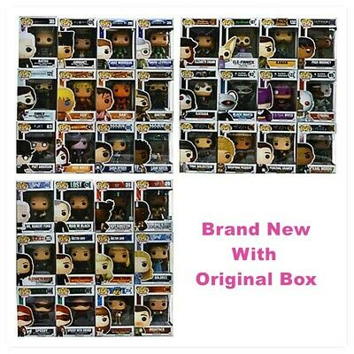Funko Pop! Variety categories (Movies,Games.Television,Heroes) Brand New In Box