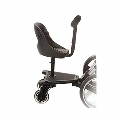 503 Skate Seat Universal Buggy Board For Pram Black