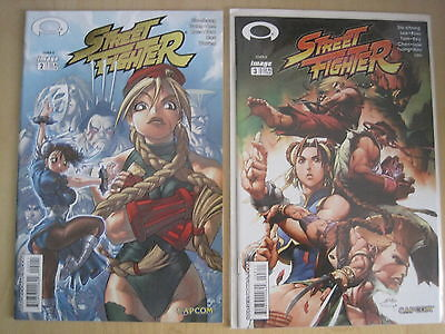 STREET FIGHTER : #s 2 & 3. IMAGE. 2003