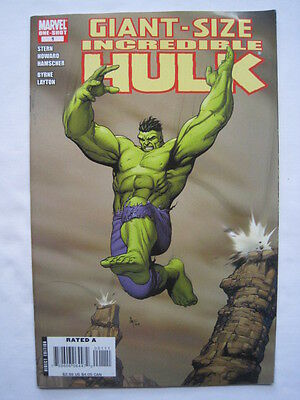 The Incredible HULK GIANT SIZE ONE-SHOT 1.By STERN,BYRNE,LAYTON etc.MARVEL.2008