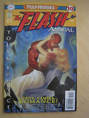 The FLASH  : ANNUAL # 10 : PULP HEROES. ALL FLASH.1st PRINT.DC.1996