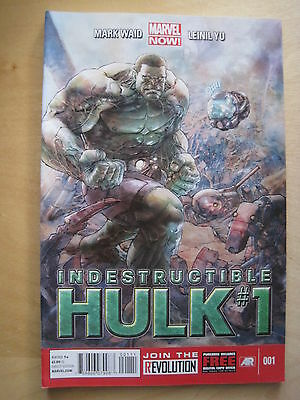 THE INDESTRUCTIBLE  HULK  001. By WAID & YU. MARVEL NOW ! 2013