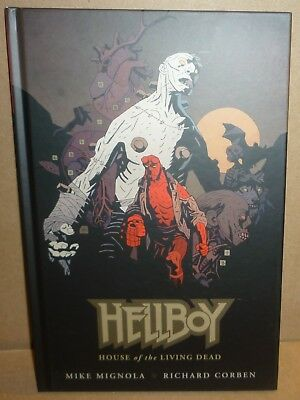 HELLBOY HOUSE OF THE LIVING DEAD Hardcover Mike Mignola Excellent