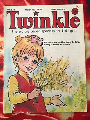 Twinkle  Comic No. 632. 1 March 1980.   Very Good Condition