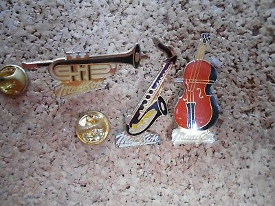 3 Pin's Pins MADISON musique instrument music