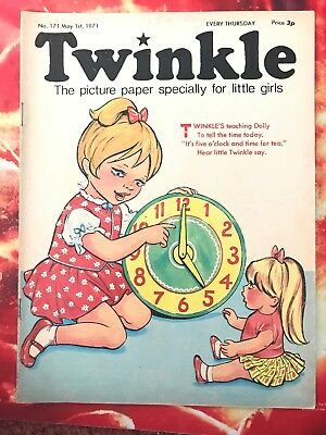 Twinkle  Comic No. 171. 1 May 1971. Wizard Of Oz. Dress Twinkle Page Vfn