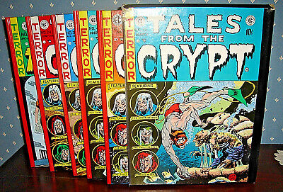 Complete 5 Volume TALES FROM THE CRYPT Slipcase, EC Comics, Russ Cochran