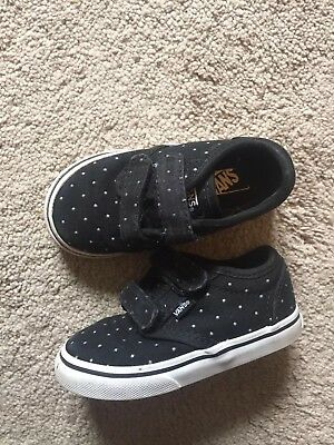 girls vans shoes size 7