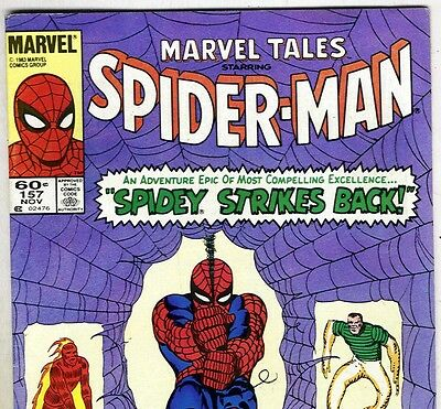 The Amazing Spider-Man #19 Reprint in Marvel Tales #157 from Nov. 1983 in Fine-